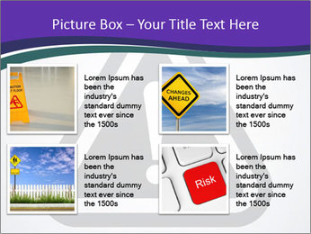 Important Sign PowerPoint Template - Slide 14