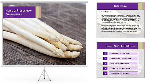 White Sprout PowerPoint Template