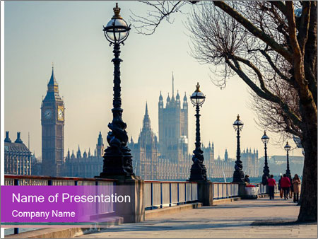 British Historical City PowerPoint Templates