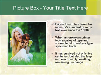 Two Dogs Friends PowerPoint Template - Slide 13