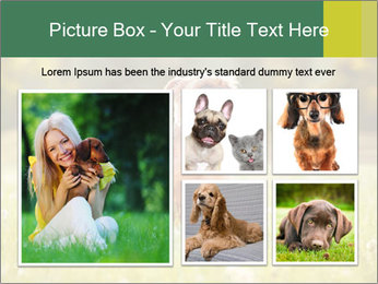 Two Dogs Friends PowerPoint Templates - Slide 19