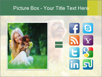 Two Dogs Friends PowerPoint Template - Slide 21