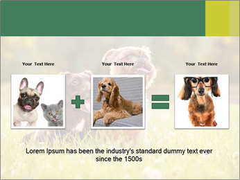 Two Dogs Friends PowerPoint Template - Slide 22