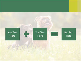 Two Dogs Friends PowerPoint Template - Slide 95