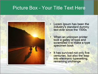 Bikers On Extreme Road PowerPoint Template - Slide 13