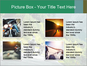 Bikers On Extreme Road PowerPoint Template - Slide 14