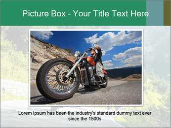 Bikers On Extreme Road PowerPoint Template - Slide 15