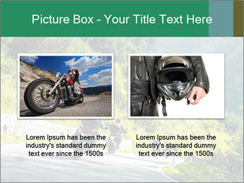 Bikers On Extreme Road PowerPoint Template - Slide 18