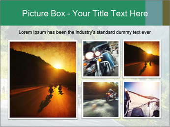 Bikers On Extreme Road PowerPoint Template - Slide 19