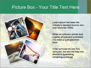 Bikers On Extreme Road PowerPoint Template - Slide 23