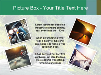 Bikers On Extreme Road PowerPoint Template - Slide 24