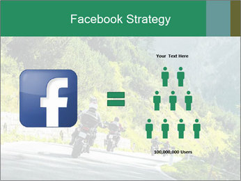 Bikers On Extreme Road PowerPoint Template - Slide 7