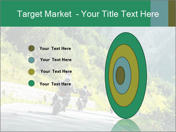 Bikers On Extreme Road PowerPoint Template - Slide 84