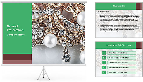 Richy Jewelry PowerPoint Template