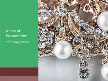 Richy Jewelry PowerPoint Template - Slide 1
