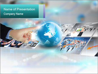 Digital Photos PowerPoint Template - Slide 1