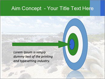 Rocks And Turtle PowerPoint Template - Slide 83