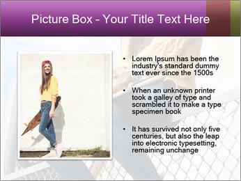 Depressed Girl PowerPoint Template - Slide 13