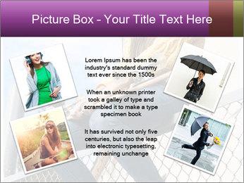 Depressed Girl PowerPoint Template - Slide 24