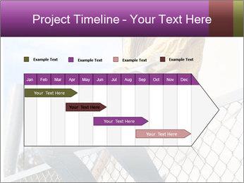 Depressed Girl PowerPoint Template - Slide 25