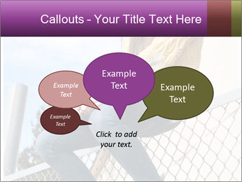 Depressed Girl PowerPoint Template - Slide 73