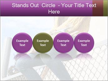 Depressed Girl PowerPoint Template - Slide 76