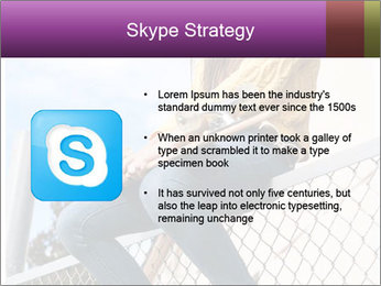 Depressed Girl PowerPoint Template - Slide 8