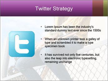 Depressed Girl PowerPoint Templates - Slide 9