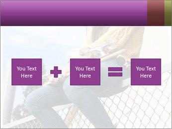 Depressed Girl PowerPoint Templates - Slide 95