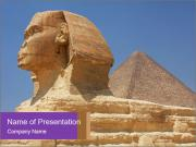 Cairo Egypt PowerPoint Templates