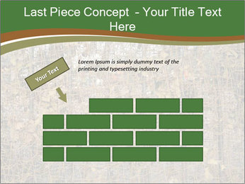 Forest Military Camouflage Fence PowerPoint Template - Slide 46