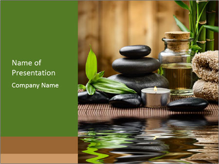 Zen Spa Design PowerPoint Template