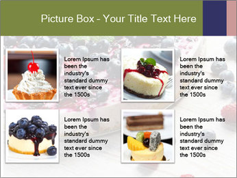 Berry Cake PowerPoint Template - Slide 14