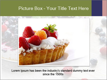 Berry Cake PowerPoint Template - Slide 16