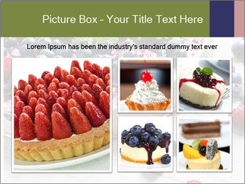 Berry Cake PowerPoint Template - Slide 19