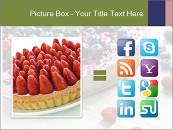 Berry Cake PowerPoint Template - Slide 21