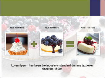 Berry Cake PowerPoint Template - Slide 22