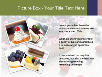 Berry Cake PowerPoint Template - Slide 23