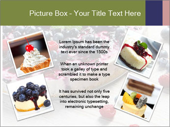 Berry Cake PowerPoint Template - Slide 24