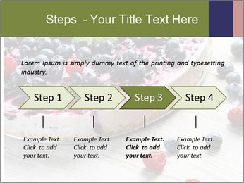 Berry Cake PowerPoint Template - Slide 4