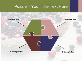 Berry Cake PowerPoint Template - Slide 40