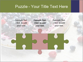 Berry Cake PowerPoint Template - Slide 42