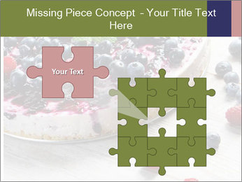 Berry Cake PowerPoint Template - Slide 45