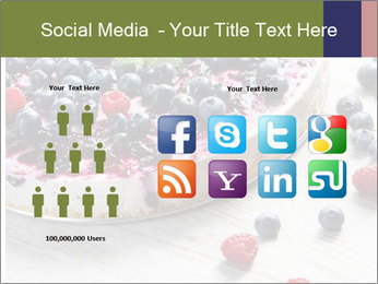 Berry Cake PowerPoint Template - Slide 5