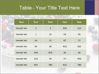 Berry Cake PowerPoint Template - Slide 55