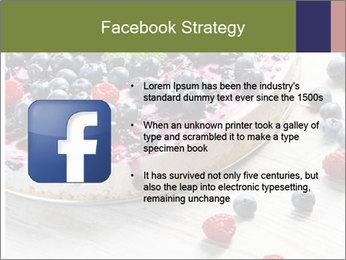 Berry Cake PowerPoint Template - Slide 6