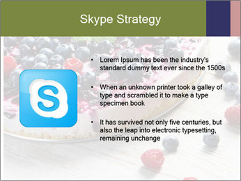Berry Cake PowerPoint Template - Slide 8