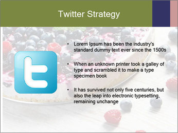 Berry Cake PowerPoint Template - Slide 9