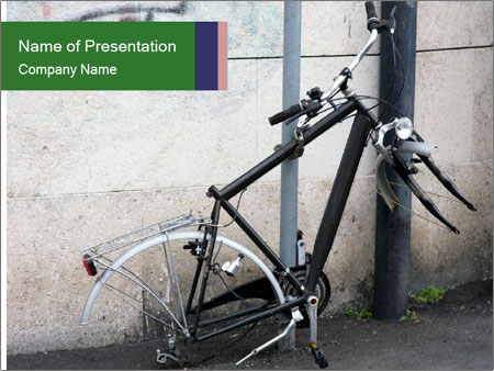 Bike Robbery PowerPoint Template