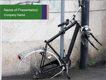Bike Robbery PowerPoint Template - Slide 1